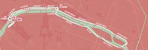 Parcours Paris Vélo Festival 2015